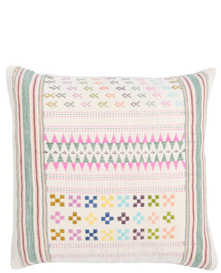 Vintage Hill Tribe Pillow, No. 03 - LEIF