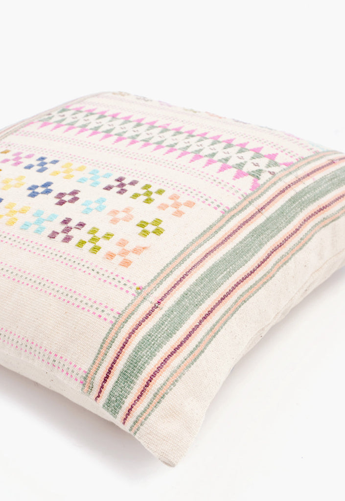 Vintage Hill Tribe Pillow, No. 03
