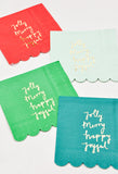Holiday Joy Cocktail Napkins - LEIF