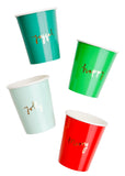 Holiday Joy Paper Cups - LEIF