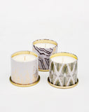 Holiday Mini Tin Candle - LEIF