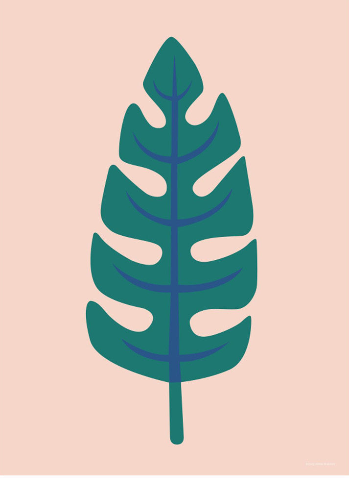 Palm Leaf Poster Print - LEIF