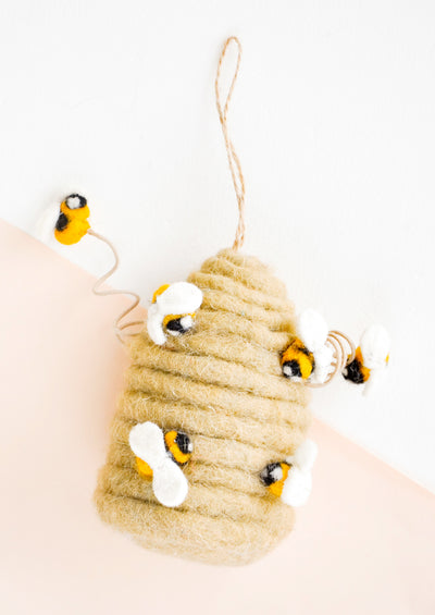 Honeyed Beehive Ornament