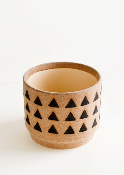 Huacas Triangle Print Planter