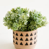 2: Huacas Triangle Print Planter in  - LEIF