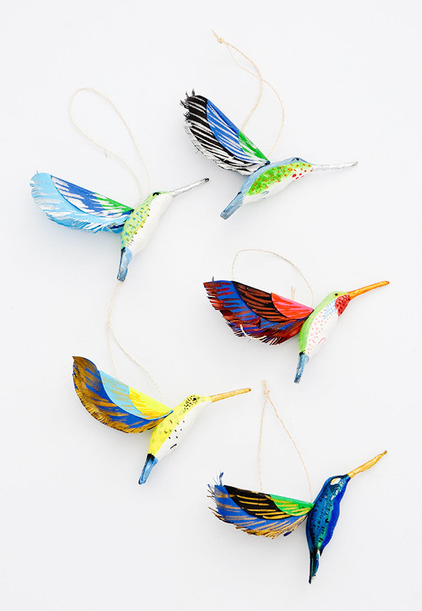 Hummingbird in Flight Ornament - LEIF