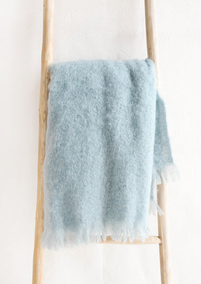 Hygge Mohair Throw