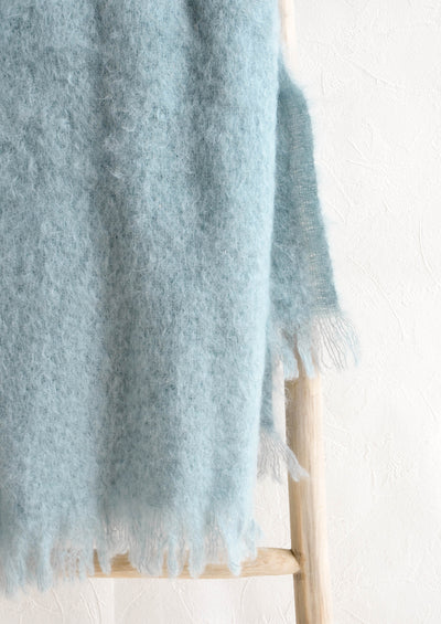 Hygge Mohair Throw hover