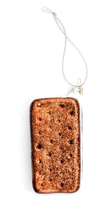 Ice Cream Sandwich Ornament - LEIF
