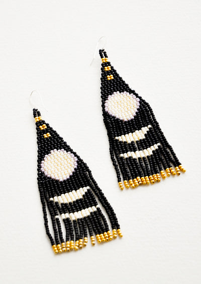 In Her Phases Earrings hover