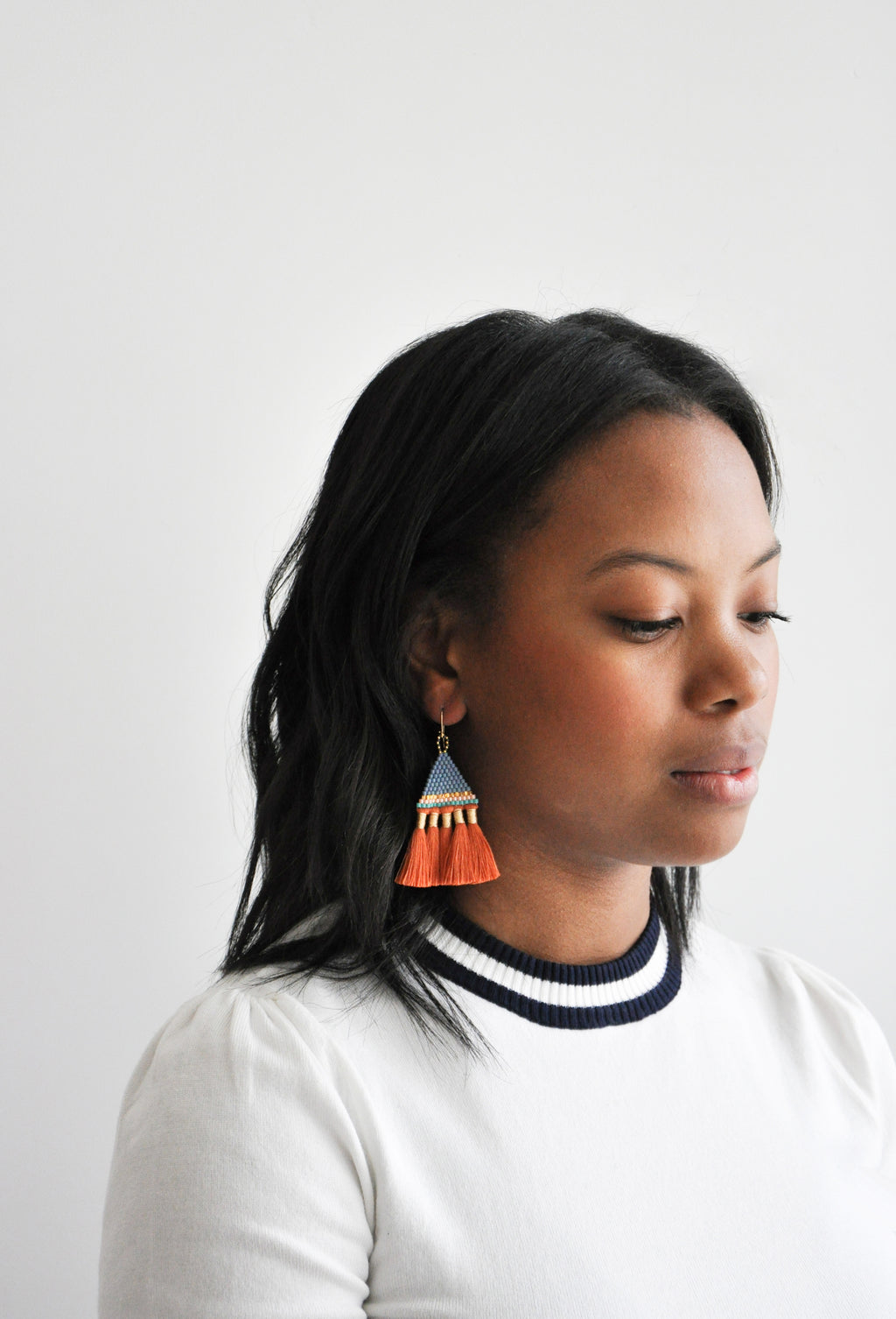 2: Incan Tassel Earrings in  - LEIF
