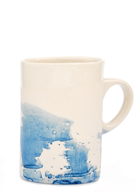 1: Indigo Splash Mug in  - LEIF