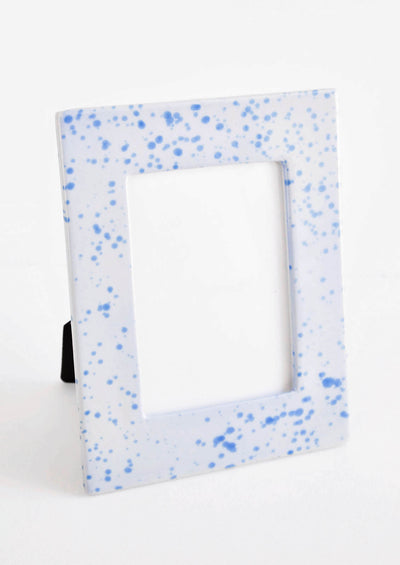 Indigo Splatters Picture Frame in  - LEIF