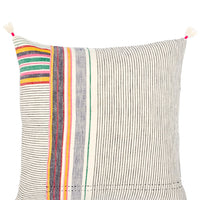 "1: Ahir Pillow in Multicolor Stripe, 16"" in  - LEIF"