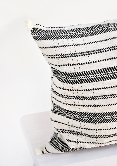 Rebari Pillow in Textured Stripe hover