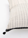 Rebari Pillow in Textured Stripe, 24""