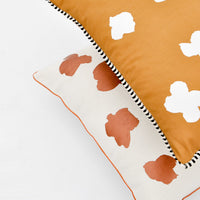 2: Ink Flower Pillow - LEIF
