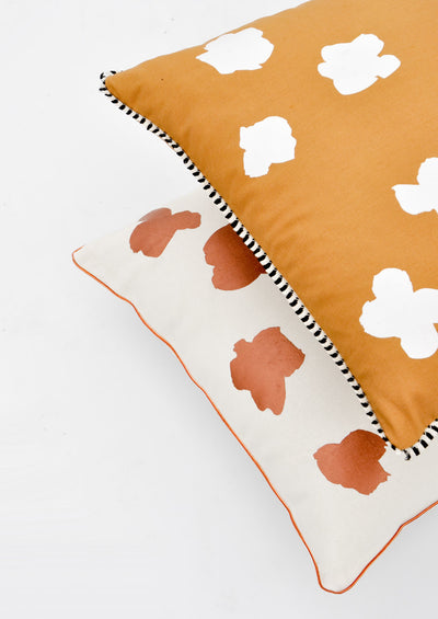 Ink Flower Pillow