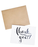Inkscript Thank You Card Set - LEIF
