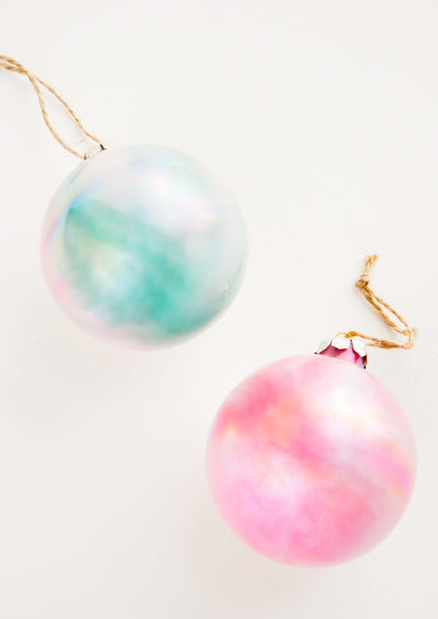 Iridescent Globe Ornament