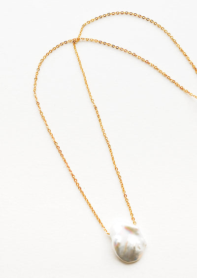 Islet Baroque Pearl Necklace