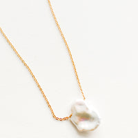 Islet Baroque Pearl Necklace in  - LEIF