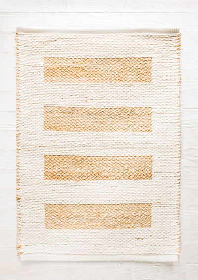 Ivory Tower Reversible Rug in  - LEIF