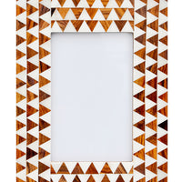 1: Ivory Triangles Picture Frame in  - LEIF