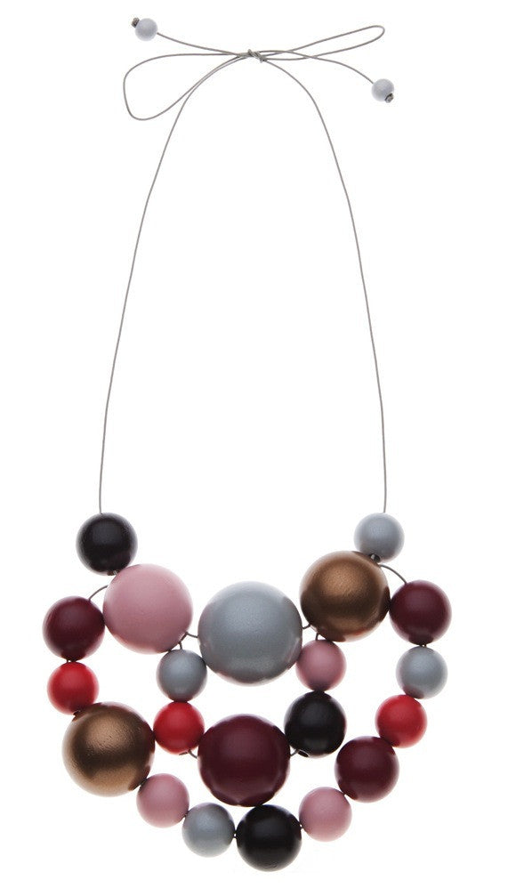 House of Kami Valentine Necklace by Kristina Klarin