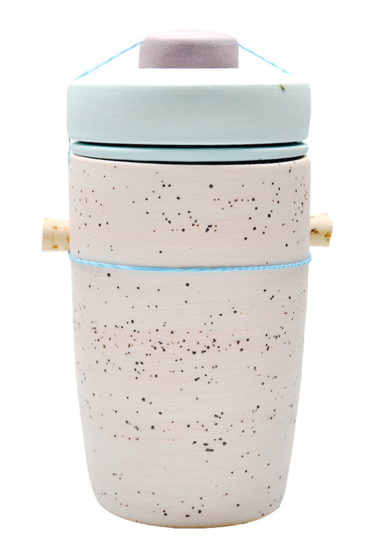 Large Jar in Speckled Surf - LEIF