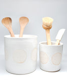 Speckle Dot Utensil Holder - LEIF