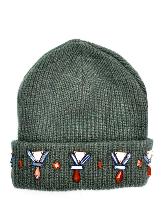 Jeweled Forest Beanie - LEIF