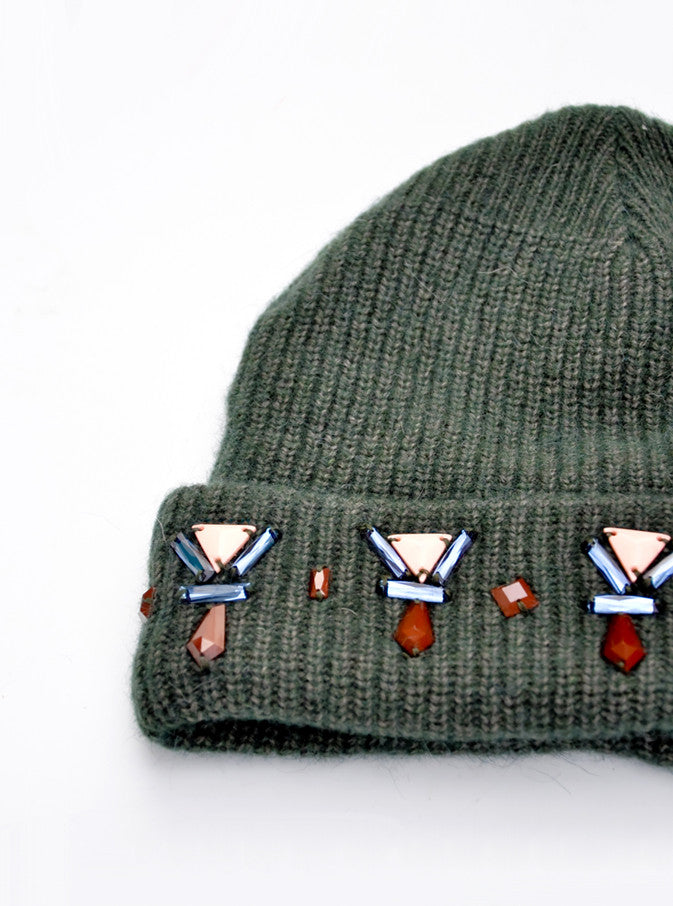 Jeweled Forest Beanie