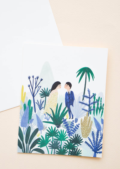 Jungle Love Card