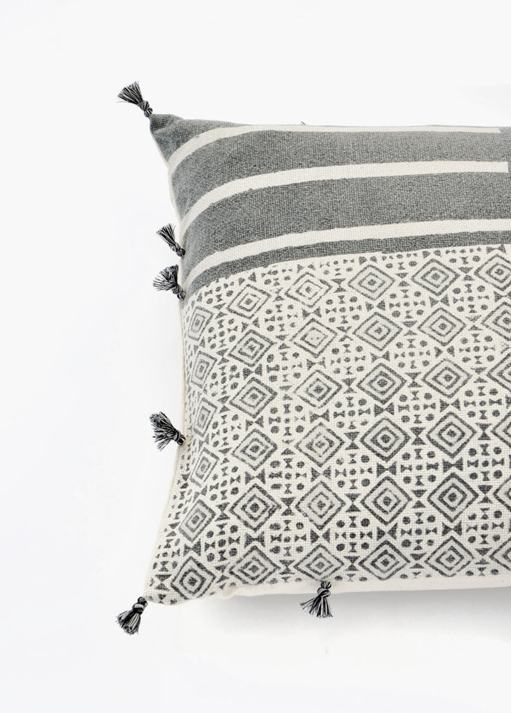 Kala Tile Print Pillow, 18""