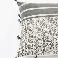"Kala Tile Print Pillow, 18"" - LEIF"