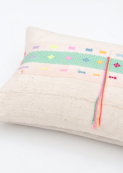 Karen Neon Trim Pillow