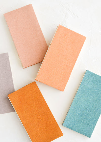 Naturally Dyed Hemp Notebook
