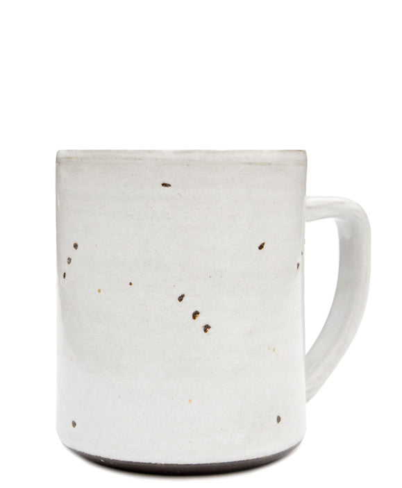 Grey / Chocolate: Constellation Mug in Grey / Chocolate - LEIF