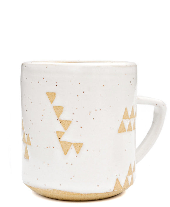 Wandering Triangles Mug