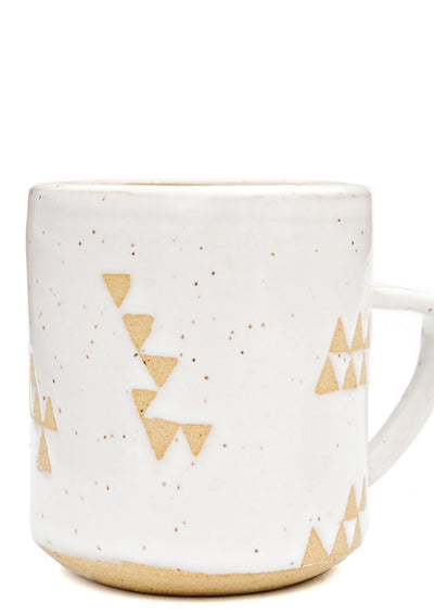 Wandering Triangles Mug in  - LEIF