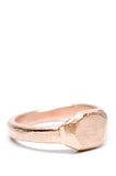Signet Ring in Rosegold - LEIF