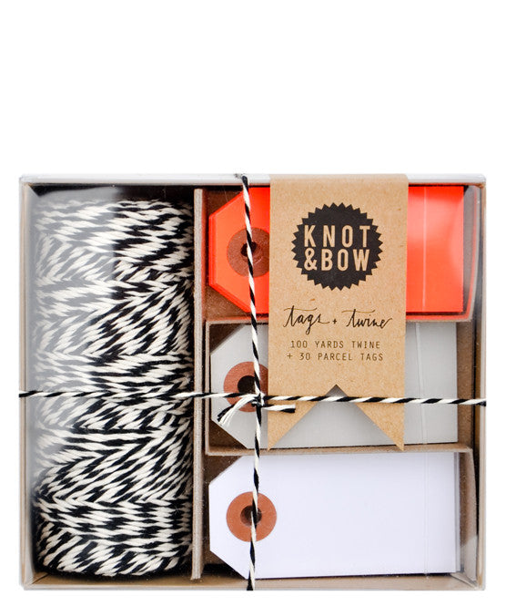 Tags & Twine Gift Tag Set - LEIF