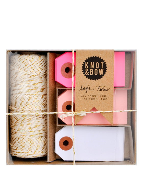 Tags & Twine Gift Tag Set