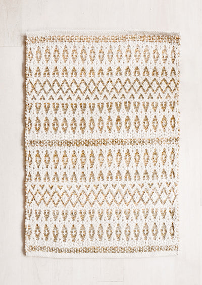 La Palma Jute & Cotton Rug in  - LEIF