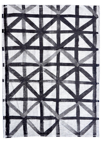 Lattice Check Tea Towel