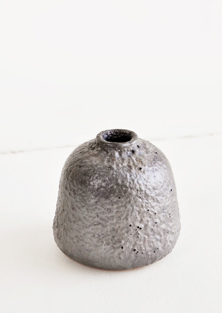 Small / Mercury: Lava Rock Vase