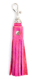 Leather Tassel Key Clip - LEIF