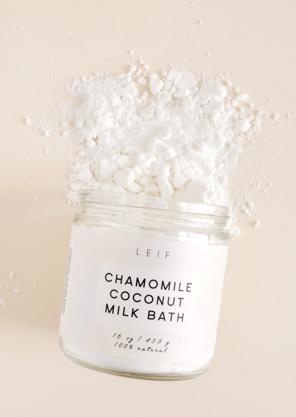1: Chamomile Coconut Milk Bath in  - LEIF