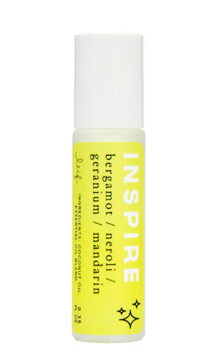Inspire: Mood Aromatherapy Roller in Inspire - LEIF